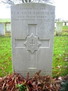 Grave at Lapugnoy, near Bethune